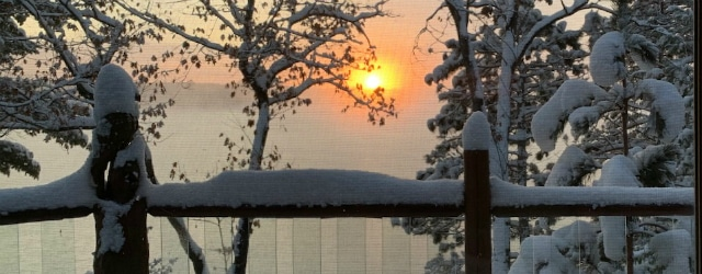 winter sunrise – 2019